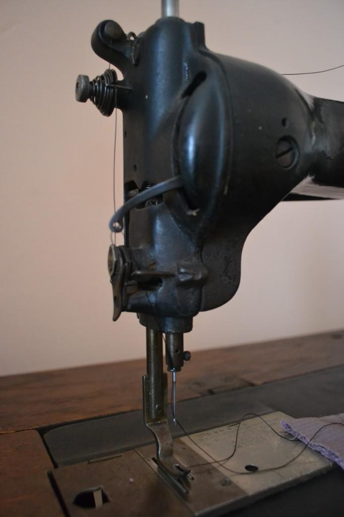needle close-up