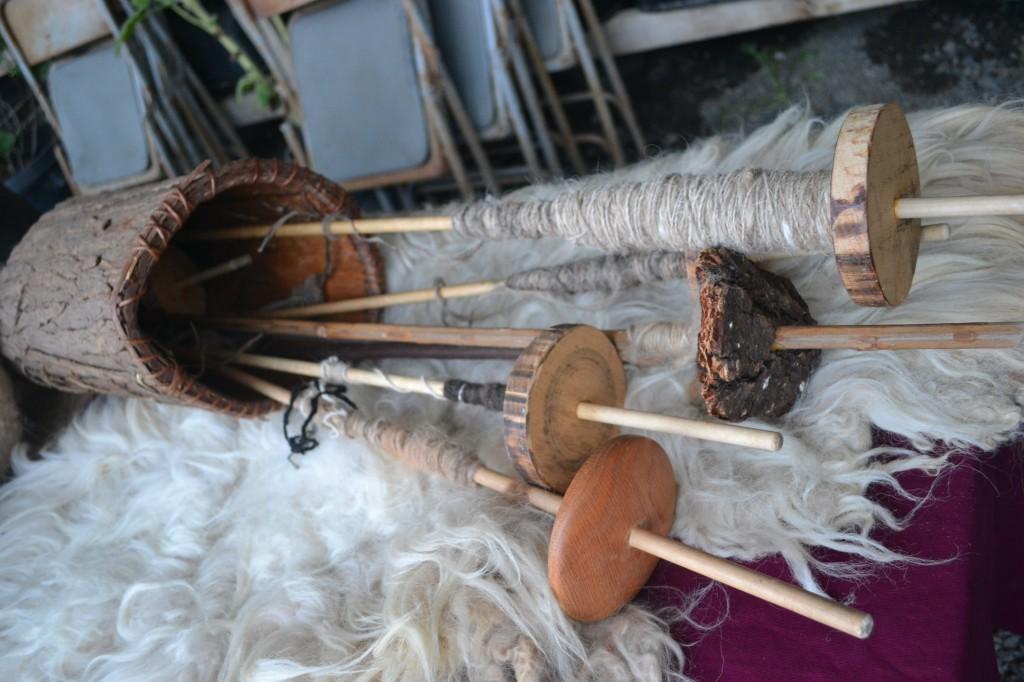 katherines' handmade spinning tools