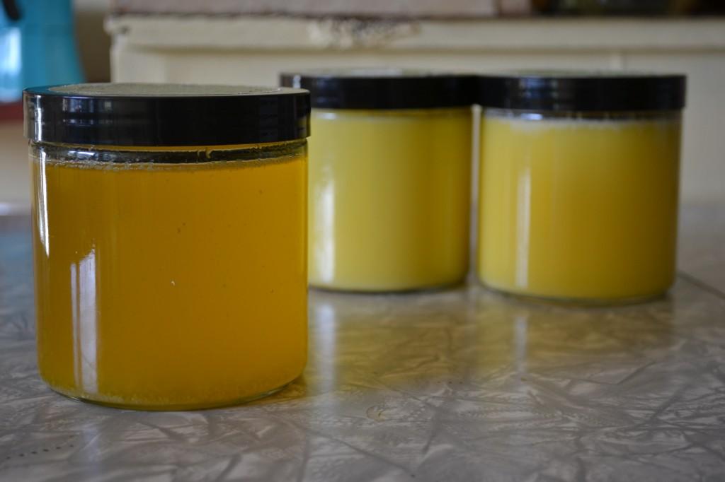 ghee jars