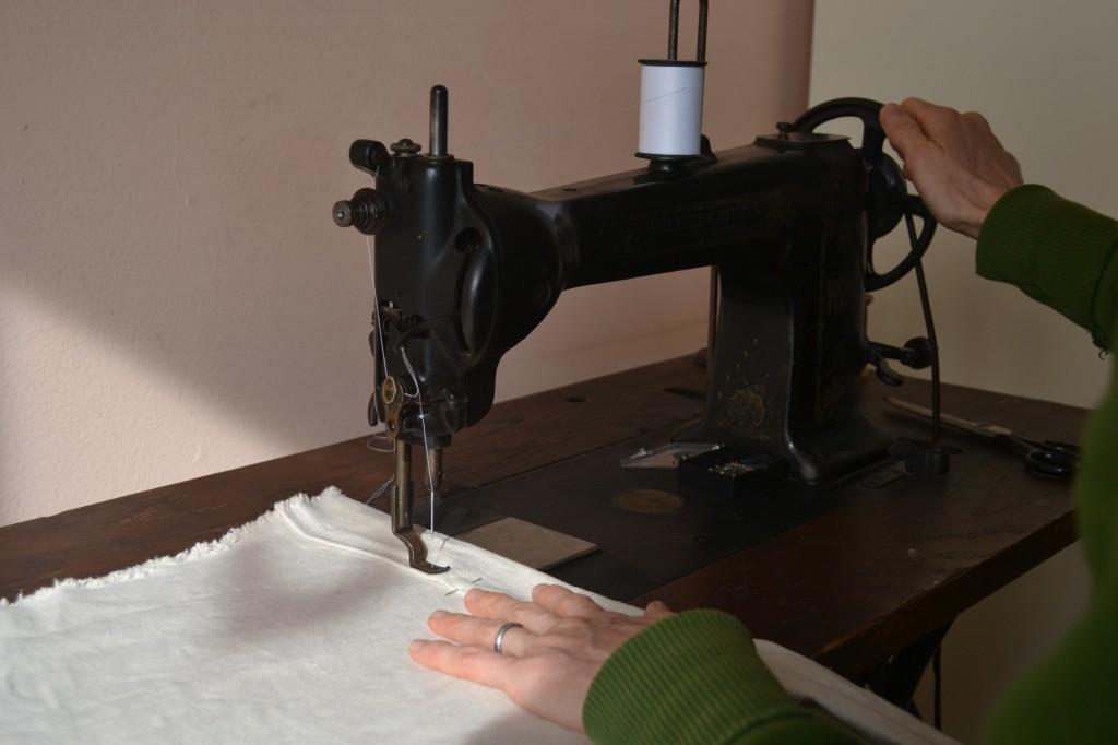 sewing close-up