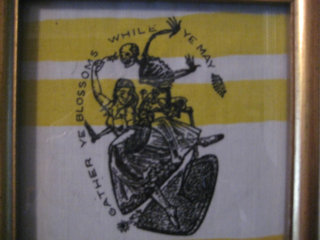 gather ye blossoms patch