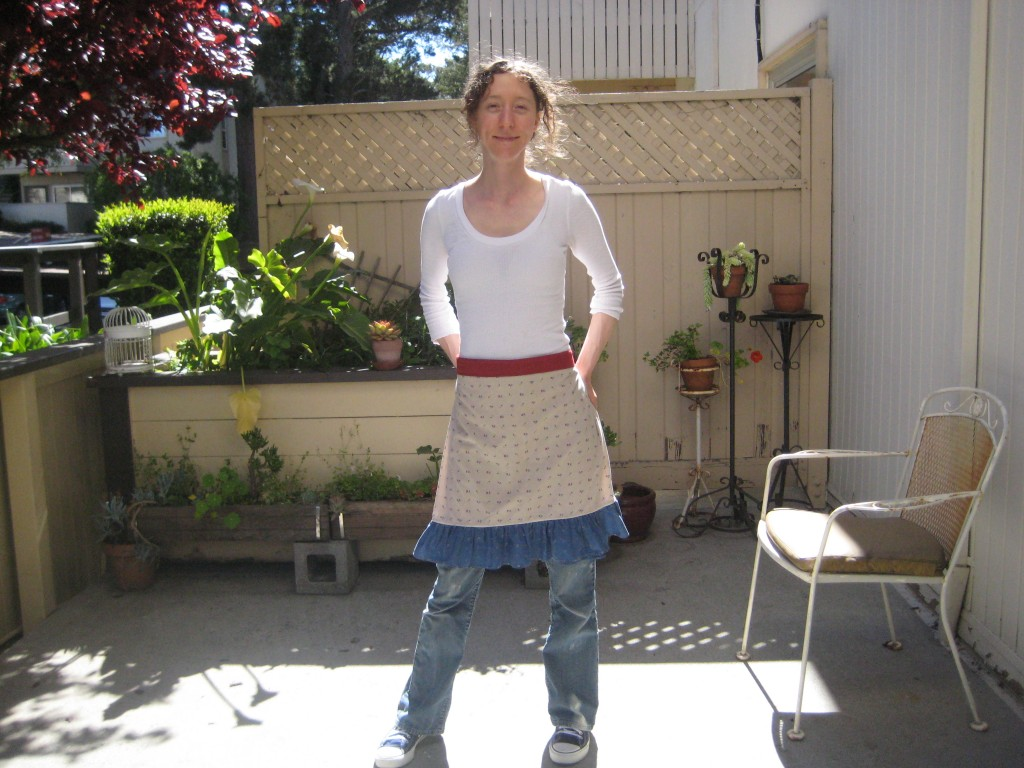 apron looks like a skirt