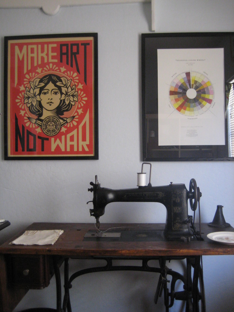 treadle craft room